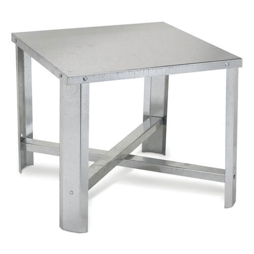 Oatey® 34057 Galvanized 18 ga Steel Stand for Water Heater Tank 18 in Above Floor Level
