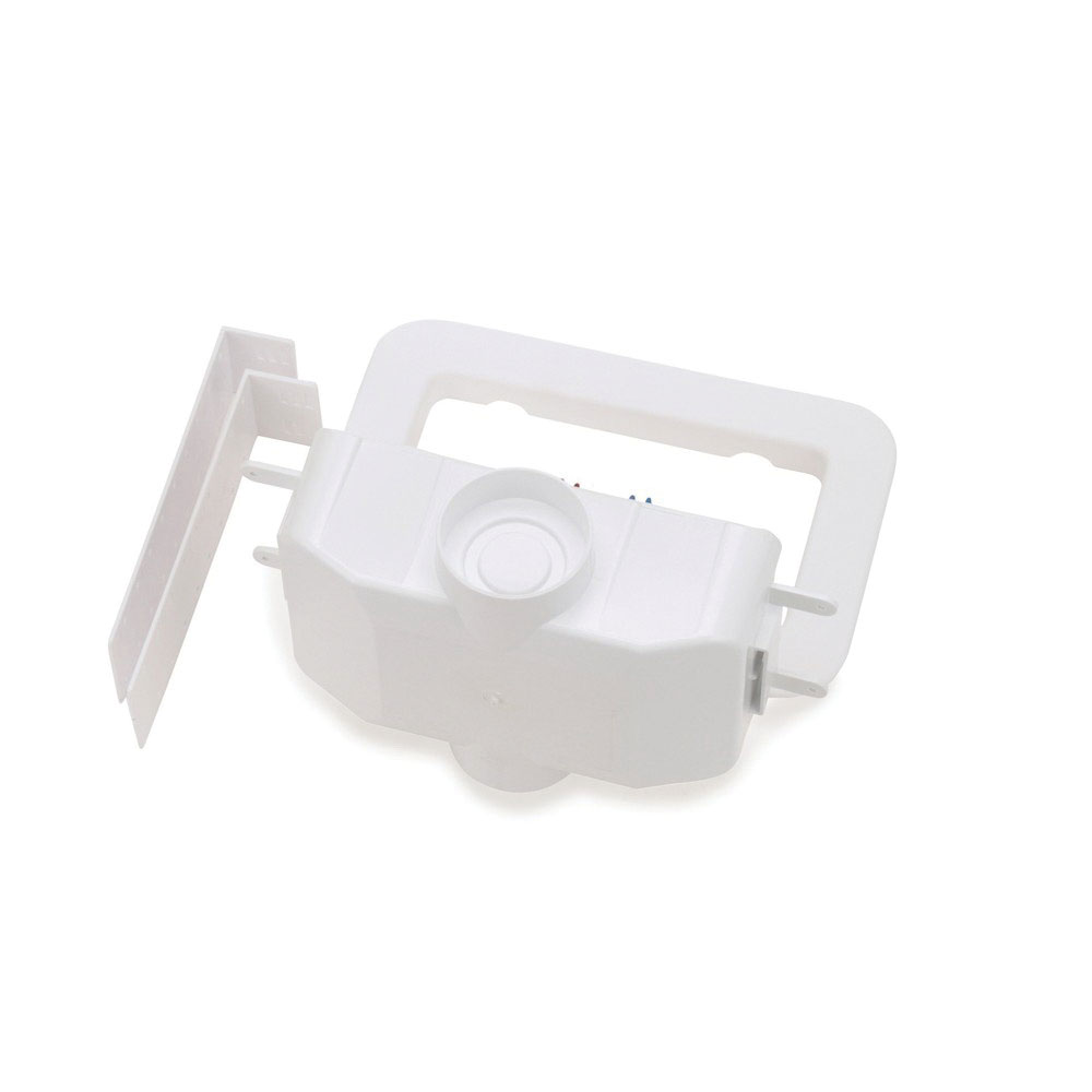 Oatey® Centro II 38101 White PVC Washing Machine Outlet Box, 1/4 in, Copper
