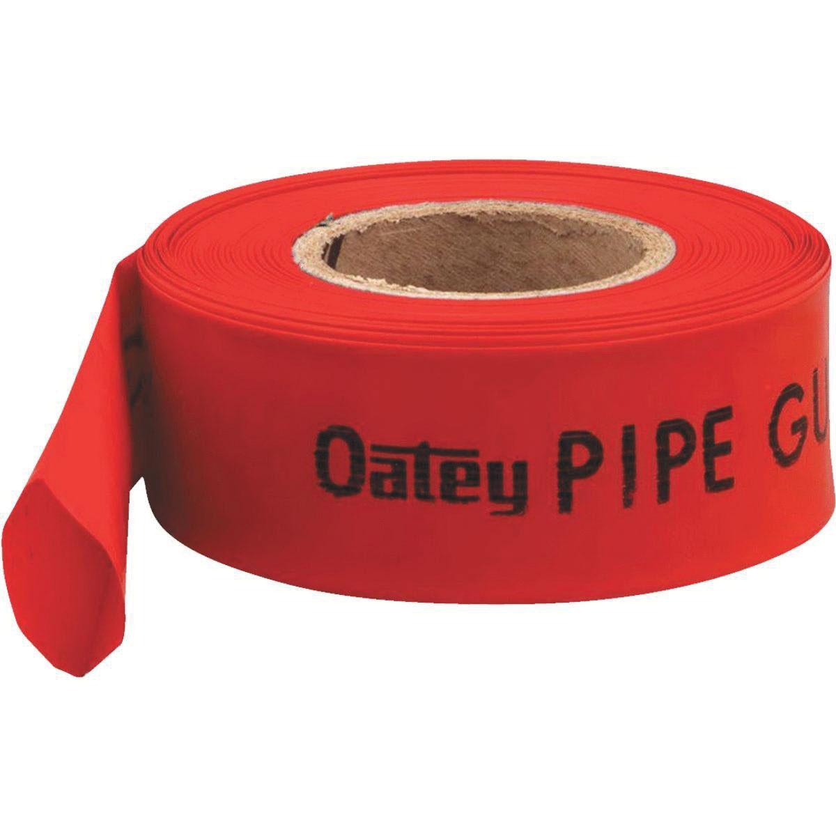 Oatey® 38707 Red Polyethylene Pipe Guard, 200 ft L