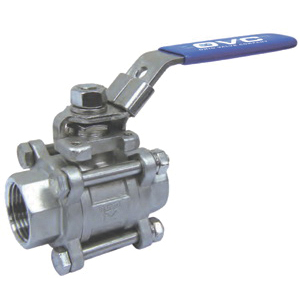 Ohio Valve 366FW Stainless Steel 3-Piece Full Port Ball Valve, Socket Weld, 1000 psi, -20 to 450 deg F