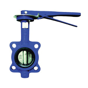 Ohio Valve 4800SEL Ductile Iron Resilient Seated Butterfly Valve, Wafer, 200 psi, -30 to 275 deg F