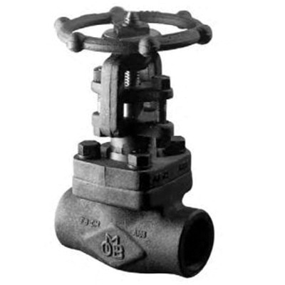 OMB® 810 Forged Carbon Steel OSY Gate Valve, Socket Weld, Class 800