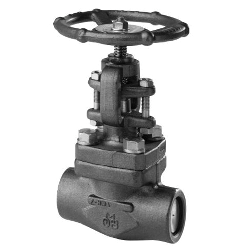 OMB® 830-8 Forged Carbon Steel Regular Port Globe Valve, Socket Weld, 1975 psi