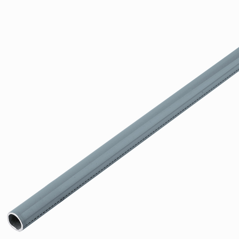 Parker® Transair® 1016A25 06 00 Powder Coated/Gray Aluminum Rigid Pipe, 7/8 in x 20 ft