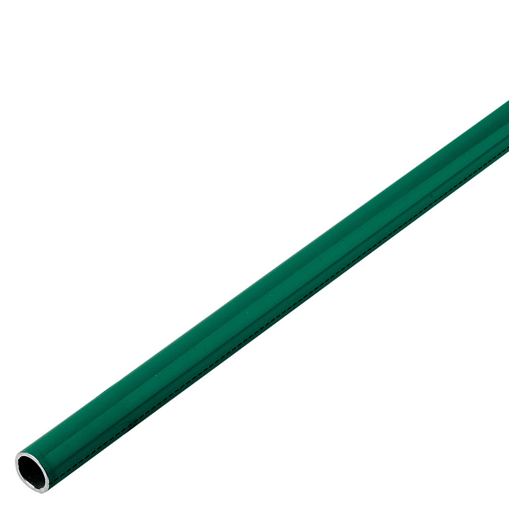 Parker® Transair® 1016A25 02 00 Powder Coated/Green Aluminum Rigid Pipe, 7/8 in x 20 ft