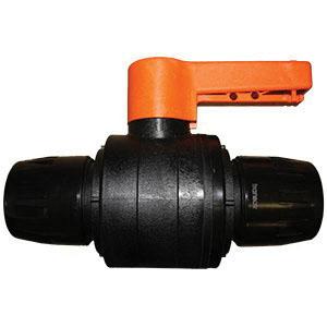 Parker® Transair® 4012 63 00 Polyamide with Fiberglass Lockable Ball Valve, 2-1/2 in, Female, 232 psi, -4 to 140 deg F