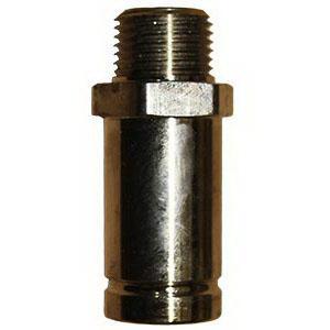 Parker® Transair® 6621 40 50 Black Brass Treated Lightweight Connector, 1-1/2 in, Male Pipe x MNPT