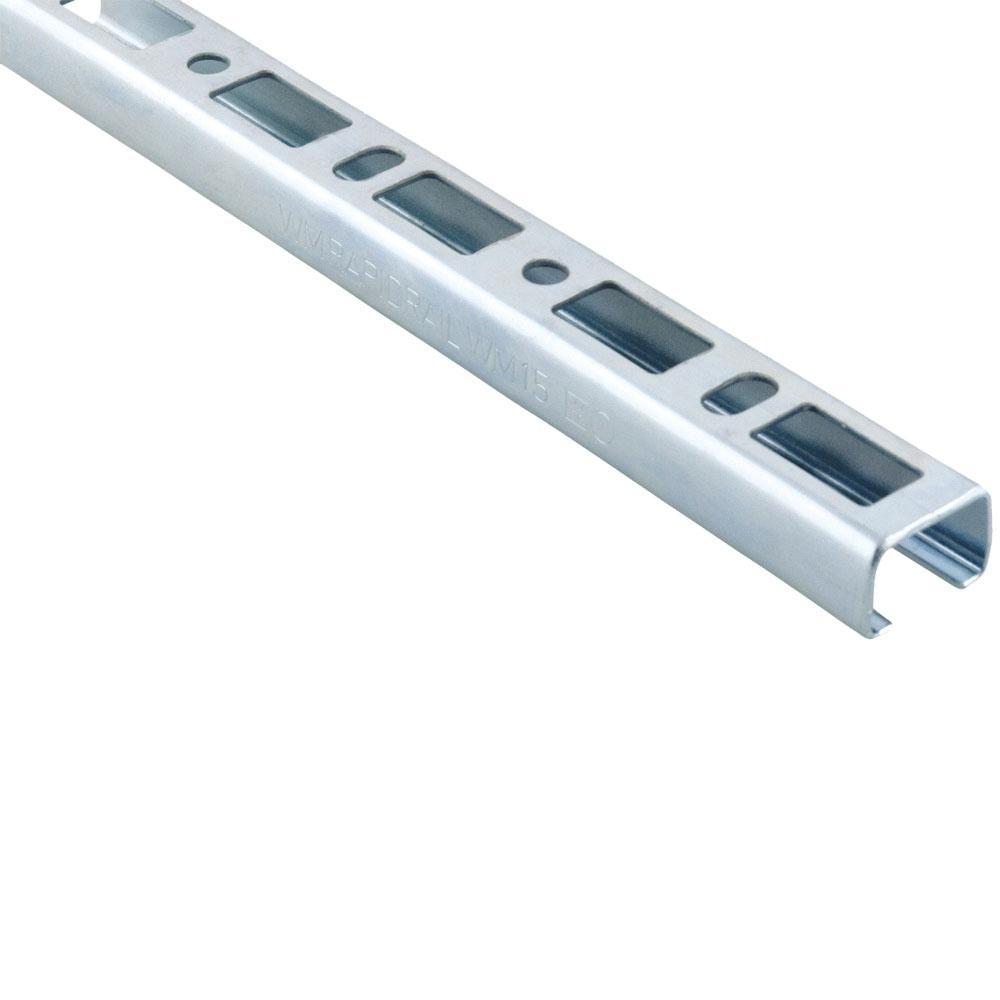 Parker® Transair® 6699 01 01 Steel U-Channel, 6 ft 5 in L x 1-3/16 in W x 1-3/16 in H