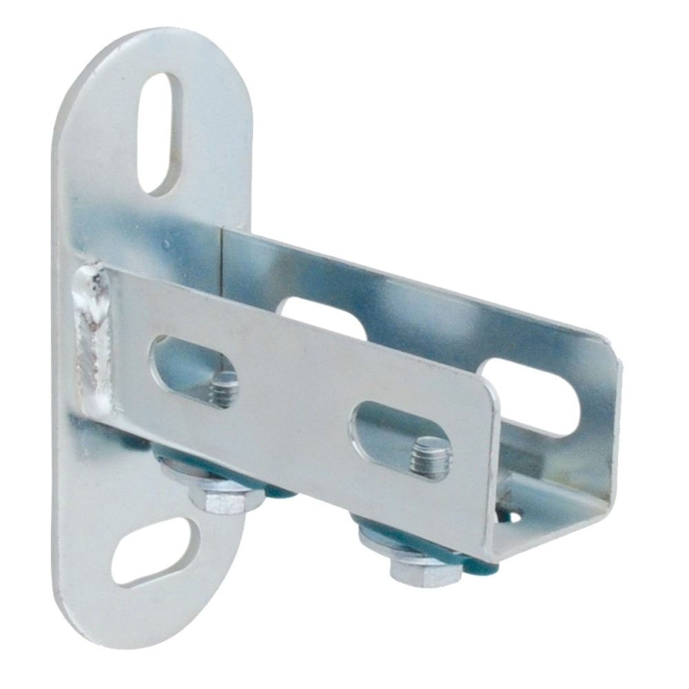 Parker® Transair® 6699 01 02 Silver Steel U-Channel Fixing Bracket, 4-3/16 in H x 1-1/2 in L x 0.15 in THK, 15/PK