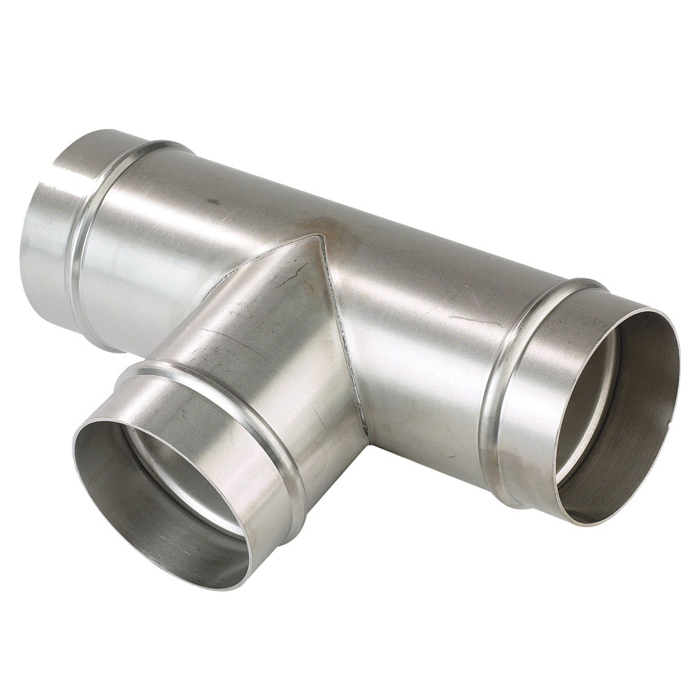 Parker® Transair® RA04L800 Aluminum Treated Equal Tee, 6 in