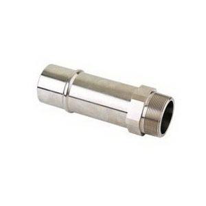 Parker® Transair® RR21 L1N20 Nickel Brass Lightweight Connector, 3 in x 2-1/2 in, Male Pipe x MNPT