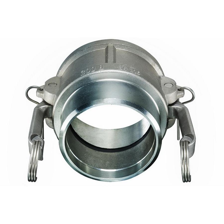 Perlick® F-22678-SS-530 304 Stainless Steel SCH 5 Camlock Coupling, 3 in, FNPT x Butt Weld