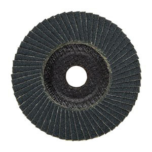 PFERD Polifan® 62322 Zirconia Alumina Conical Performance Line Flap Disc, 4-1/2 in, Grit 40
