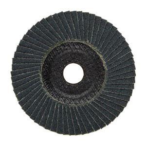 PFERD Polifan® 60654 Zirconia Alumina Conical Universal Line Flap Disc, 4-1/2 in, Grit 40
