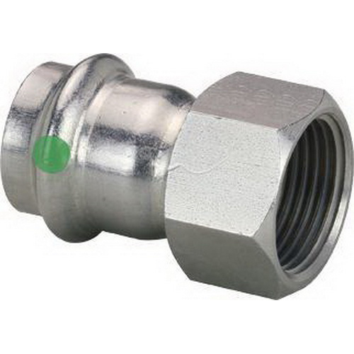 ProPress® 80090 316 Stainless Steel Pipe Adapter, 3/4 in, Press x FNPT, Import