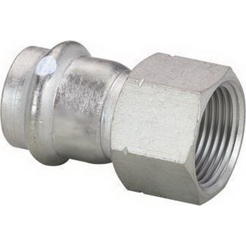 ProPress® 304 Stainless Steel Pipe Adapter, Press x FNPT, Import