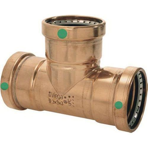 ProPress® XL-C 20759 Copper Tee, 3 in x 3 in x 1/2 in, Press, Import