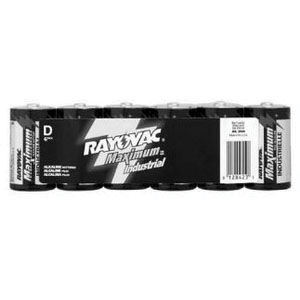 Rayovac® 1200 Industrial Grade Heavy Duty Battery, Size D, 1.5 V