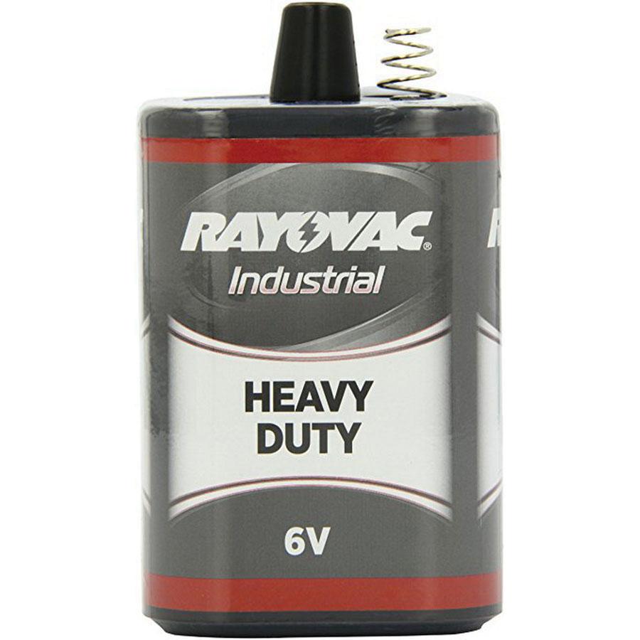 Rayovac® 6V-HD Zinc Carbon Heavy Duty Lantern Battery, 6 V, 5660 mAh