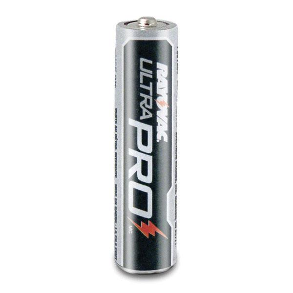 Rayovac® UltraPro™ ALAAA-18 Industrial Grade Alkaline Battery, AAA, 1.5 V, 1100 mAh