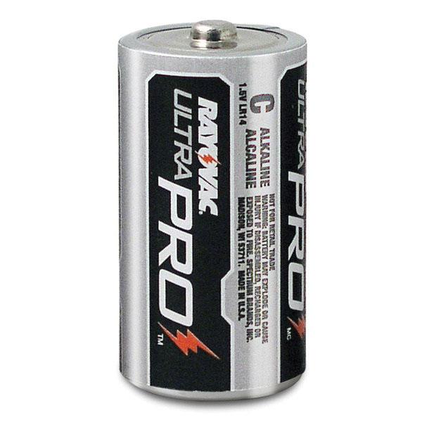Rayovac® UltraPro™ ALC-12 Industrial Grade Alkaline Battery, Size C, 1.5 V, 7500 mAh
