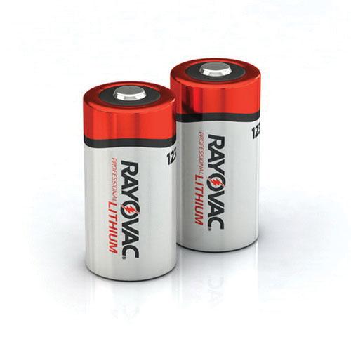 Rayovac® RL123A-2 Lithium Battery, 123A, 3 V, 900 mAh