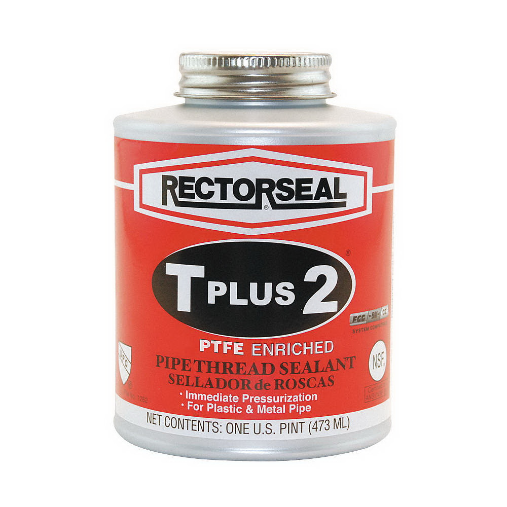 RectorSeal® T Plus 2® 23431 Multi-Purpose Pipe Thread Sealant, 1 pt Can, White