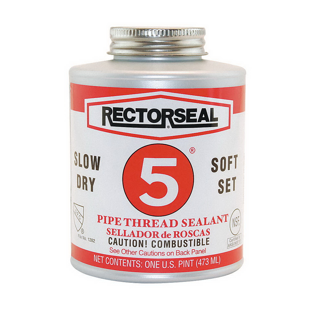 RectorSeal® 25431 Multi-Purpose Pipe Thread Sealant, 1 pt Can, Yellow