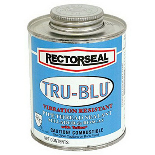 RectorSeal® 31433 Multi-Purpose Pipe Thread Sealant, 1 pt Can, Blue