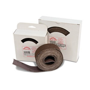 RectorSeal® 61720 Aluminum Oxide Regular Abrasive Cloth, 10 yd L x 1-1/2 in W
