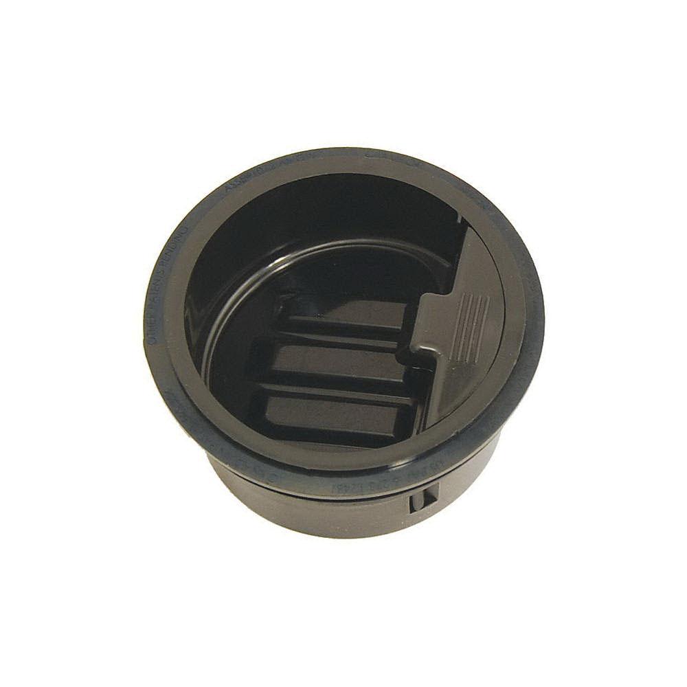 RectorSeal® SureSeal® 97042 Black HDPE Trap Seal for Floor Drains and Floor/Mop Sinks, 3 in, Slip