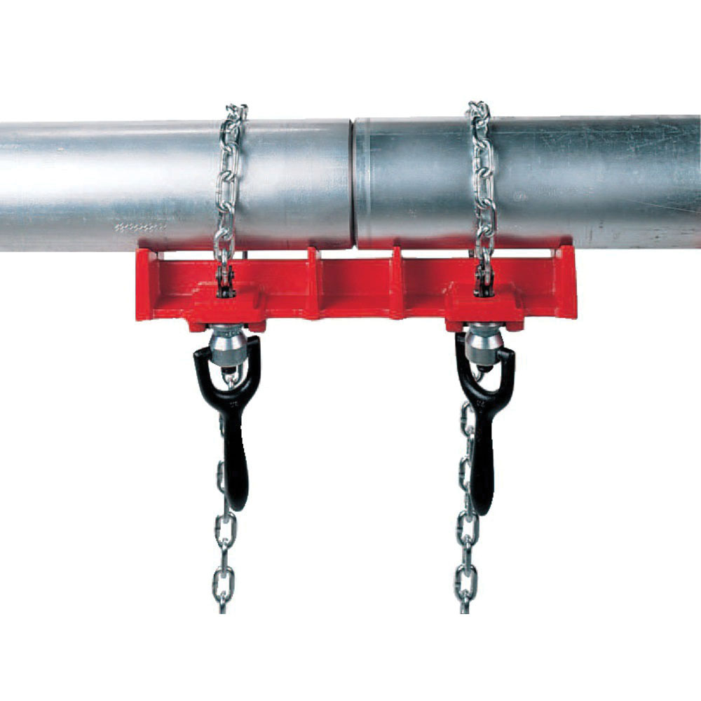 RIDGID® 40220 Cast Iron Straight Pipe Welding Vise, 1/2 - 8 in