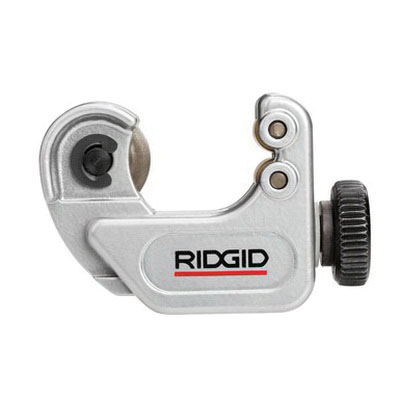 RIDGID® 40617 Gray Zinc Manual Close Quarter Midget Tubing Cutter, 1/4 - 1-1/8 in, 3-1/8 in L