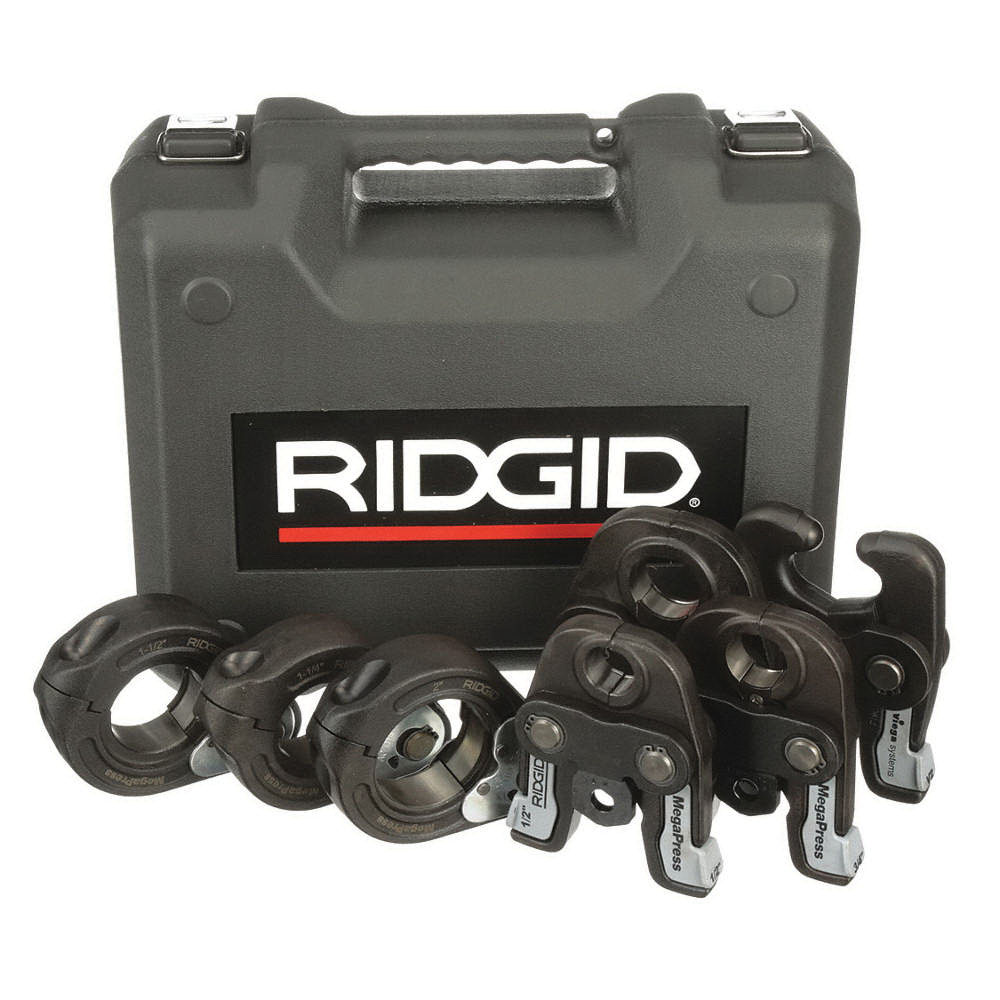 RIDGID® 48553 Press Jaw Kit for CT400/320-E/RP 330-B/RP 330-C/RP 340 Standard Pressing Tools, 1/2 - 2 in