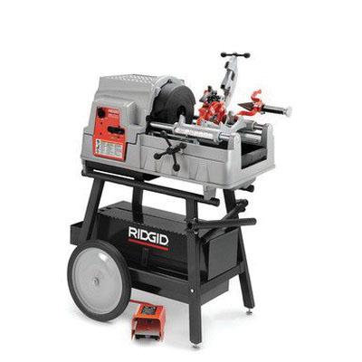 RIDGID® 84097 Corded Pipe Threading Machine, 1/8 - 2 in, 115 V, 2 hp, 16/46/58 rpm