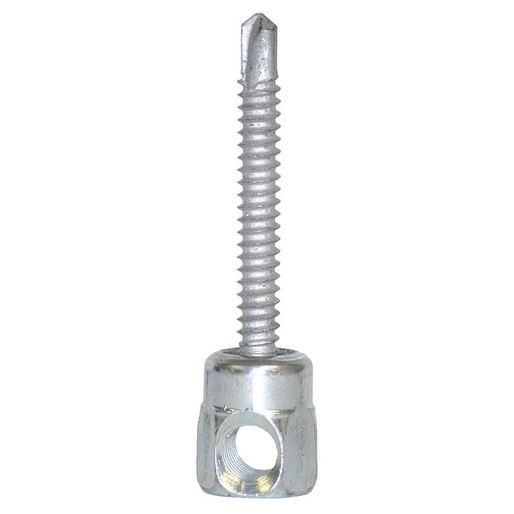 Sammys® Sidewinder® 8050957 Climaseal/Electro Zinc Steel Horizontal Mount Threaded Rod Anchor, 1/4-14 x 1 in, 25/BX