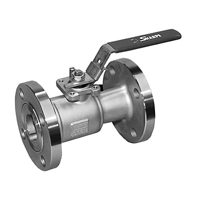 Sharpe® Forged Carbon Steel 1-Piece Fire Safe Standard Port Ball Valve, Raised Face Flanged, 270 psi, 0 - 600 deg F