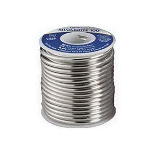 Sil-Fos® Silvabrite 100® 56761 Tin/Copper/Silver Solder Wire, 1/8 in, 1 lb Spool
