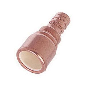 Sioux Chief PowerPEX® MetalHead™ 645XC2 Copper/CPVC Straight Adapter, 1/2 in, PEX Barb x Sweat, 50/PK