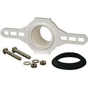 Sioux Chief 868-7P PVC Urinal Flange Kit, 2 in Hub, 8-1/8 in L x 3-1/2 in H