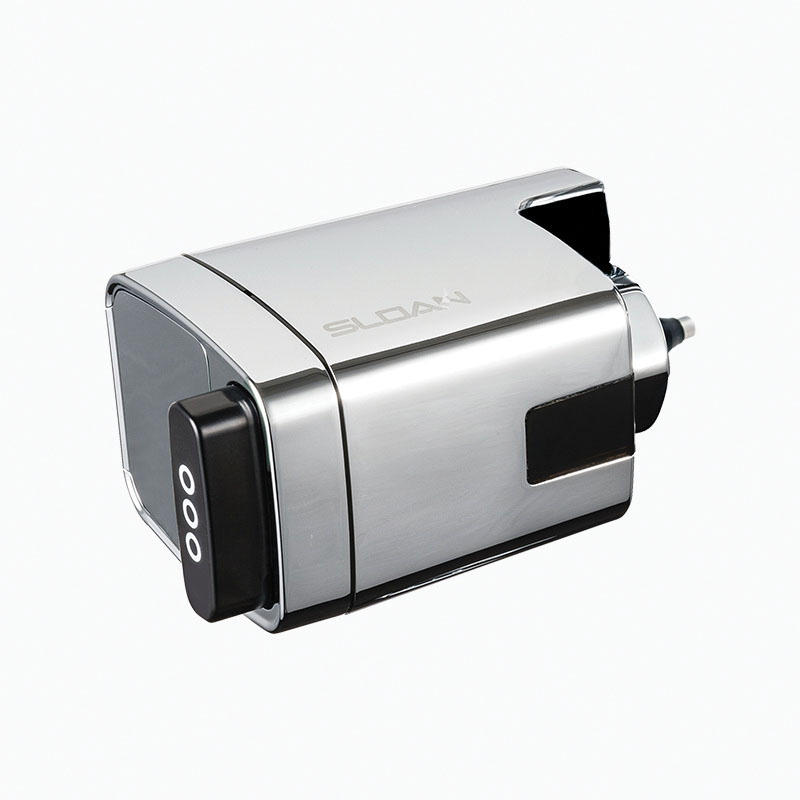 Sloan® Optima Plus® 3325500 Chrome Plated Side Mount Flush Valve Retrofit Kit for Exposed Closet or Urinal Sloan Flushometers