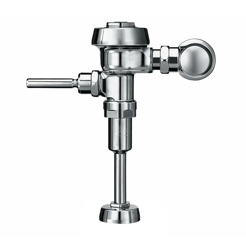 Sloan® Royal® 3912633 Chrome Semi-Red Brass Manual Flushometer, 3/4 in IPS, 0.13 gpf
