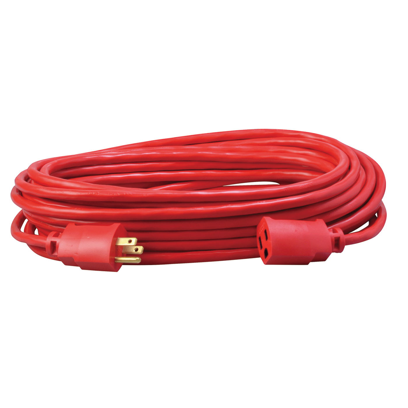Southwire® 2408SW8804 Red Medium Duty Extension Cord, 50 ft