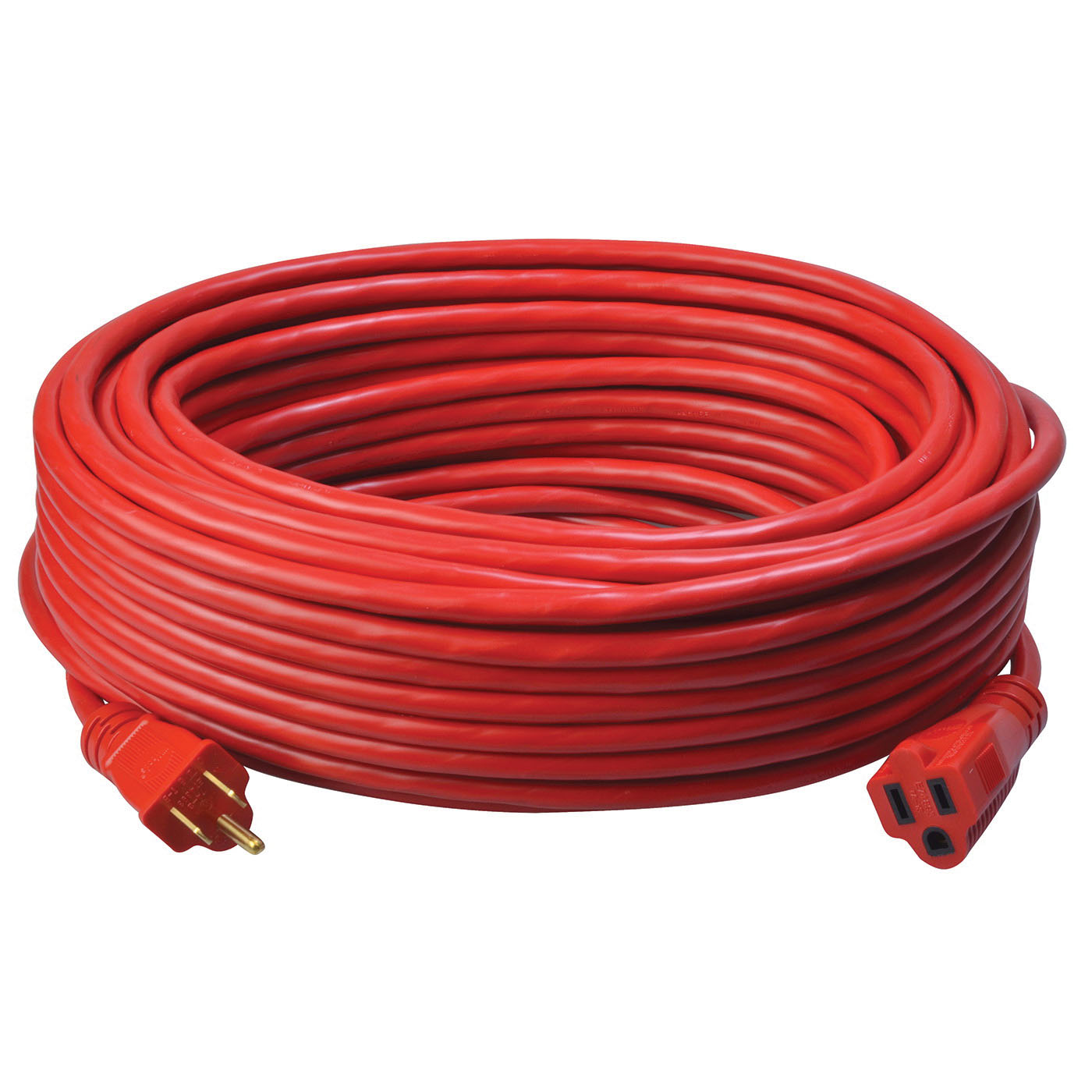 Southwire® 2409SW8804 Red Medium Duty Extension Cord, 100 ft