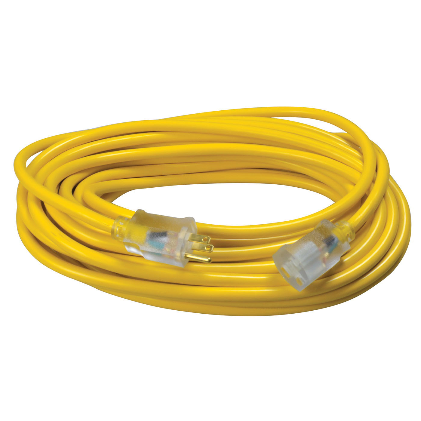 Southwire® 2588SW0002 Yellow Heavy Duty Extension Cord, 50 ft