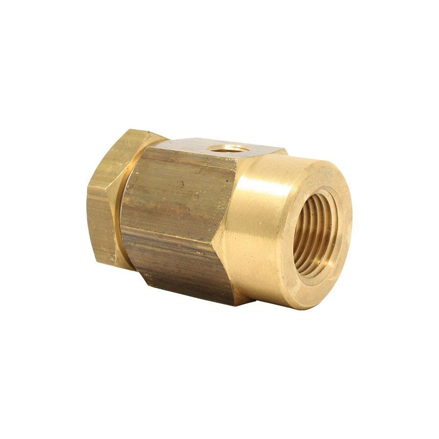 Spirax Sarco 190190 Brass Vacuum Breaker, 1/2 in x 1/8 in, NPT, 232 psig