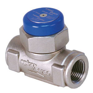 Spirax Sarco TD52 Electroless Nickel Plated Stainless Steel Thermodynamic Steam Trap, FNPT, 600 psig, 800 deg F