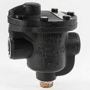 Spirax Sarco 64208 Cast Iron Inverted Bucket Steam Trap, 3/4 in, FNPT, 15 psi, 450 deg F