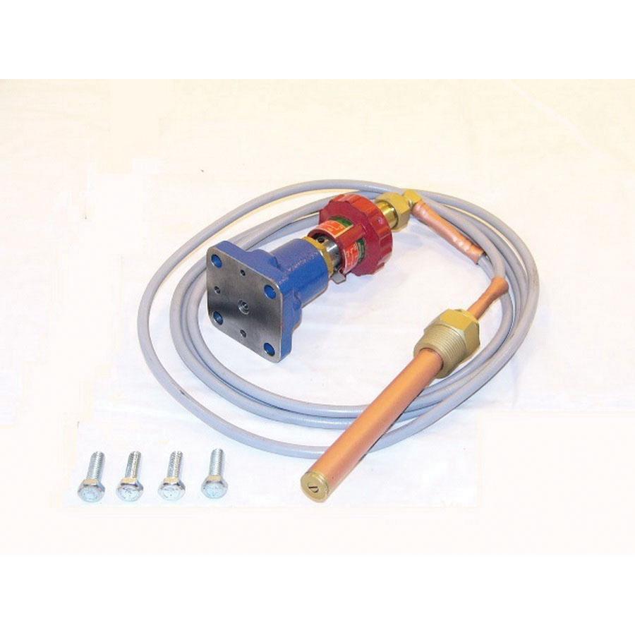 Spirax Sarco 63631 Copper Temperature Pilot for Type 25T Regulator, 0.62 in Dia x 5.21 in L