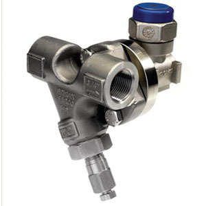 Spirax Sarco 66173C Cool Blue Stainless Steel Universal Thermodynamic Steam Trap, Socket Weld, 600 psig, 750 deg F